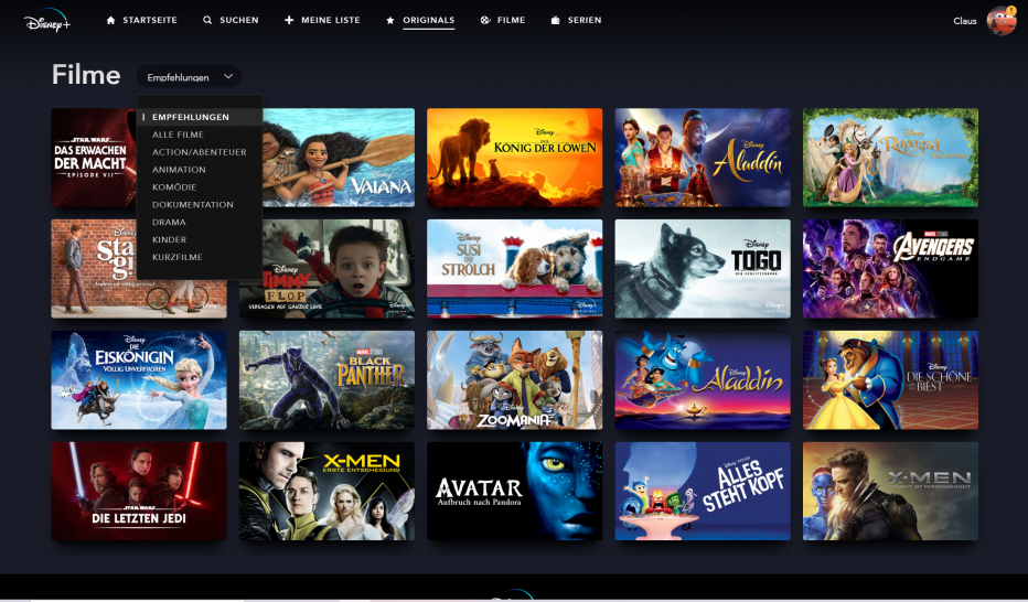 Disney Plus Im Alltagstest Ein Wurdiger Netflix Konkurrent
