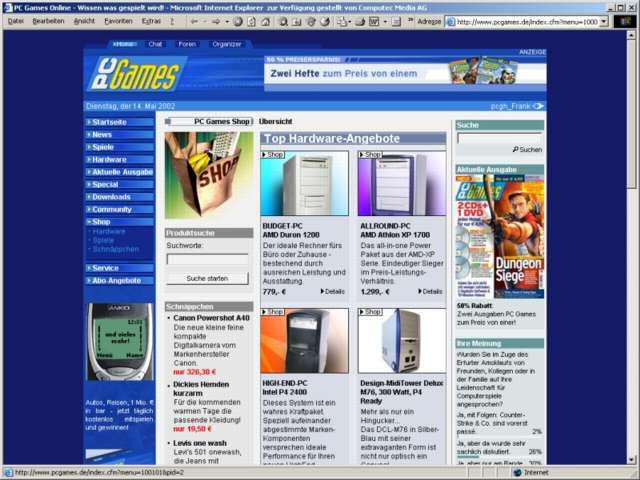 Pc games cd online shopping