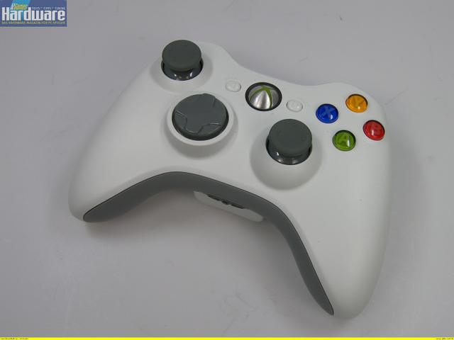 test microsoft xbox 360 controller wireless. Black Bedroom Furniture Sets. Home Design Ideas