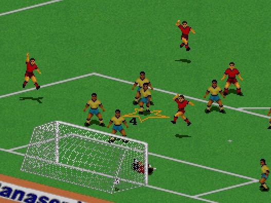 1994: FIFA International Soccer (black pixels on the grass - the