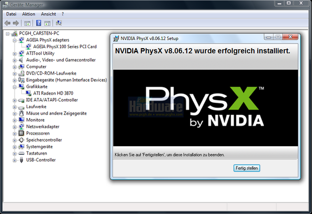 Download NVIDIA PhysX