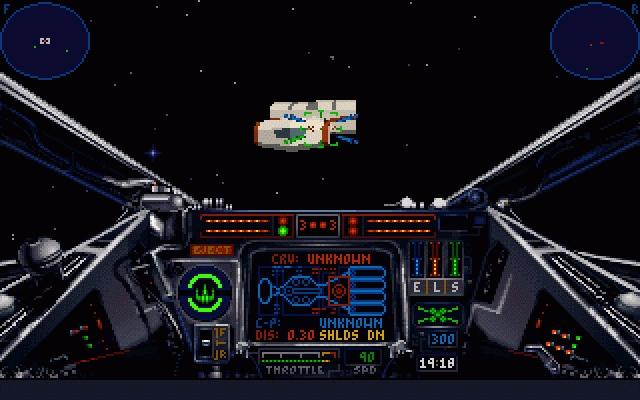 Star Wars: X-Wing, 1993 (picture: Mobygames.com) - Ten years later X-Wing