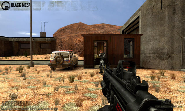 Back to half life 2 mod black mesa first in game video new