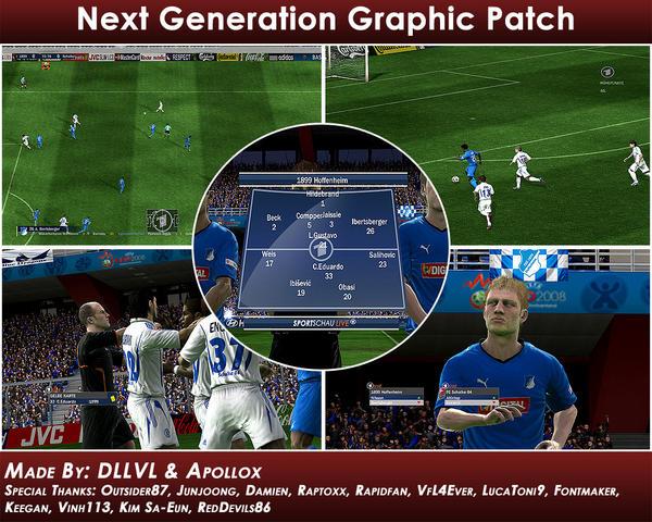 Next generation graphic patch на FIFA 09.