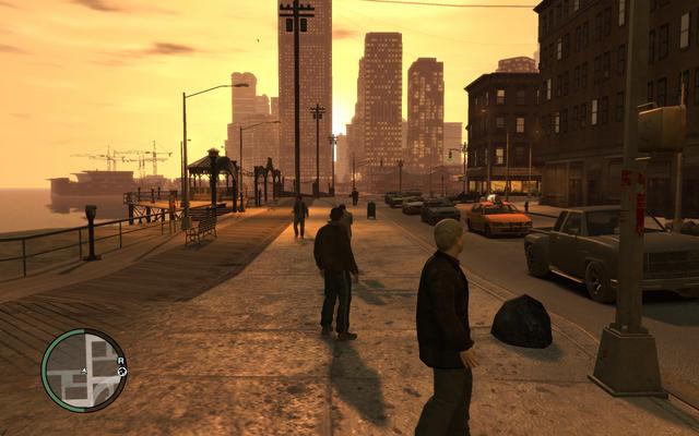 Первый патч для GTA 4 на PC вносит игру целый ряд конфигураций, включая сле