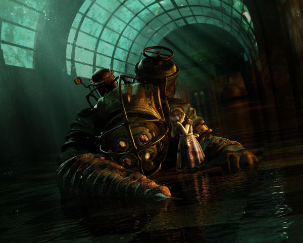bioshock 2 wallpaper. Bioshock Wallpaper Pack (6)