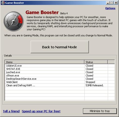 Spiele Booster