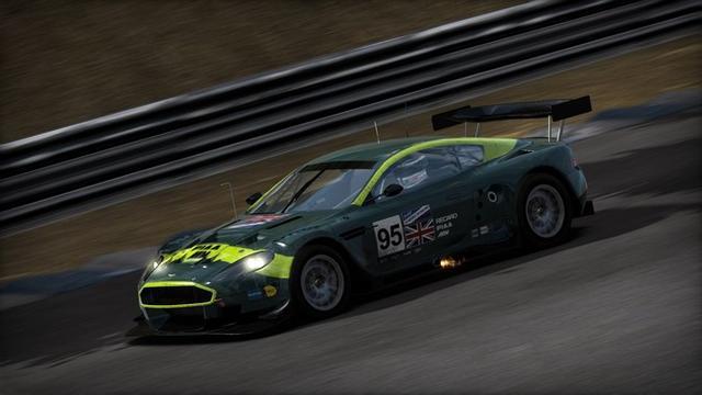 Aston Martin Dbr9. Shift: Aston Martin DBR9