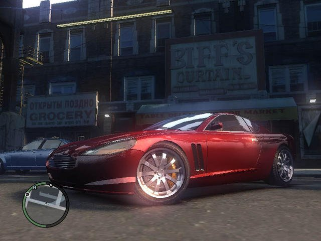 gta 4 with better car reflections. Black Bedroom Furniture Sets. Home Design Ideas