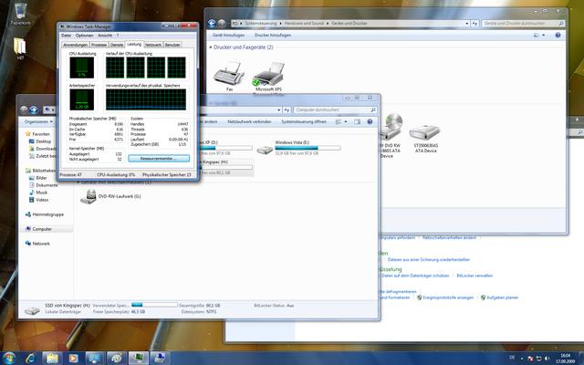 Windows 7 Systemanforderungen
