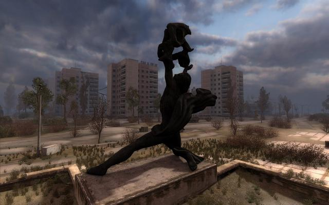 Call Of Pripyat Screenshot. Call of Pripyat benchmark
