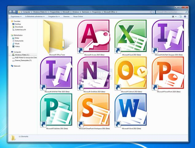 Microsoft Office 2010 Front Cover Images