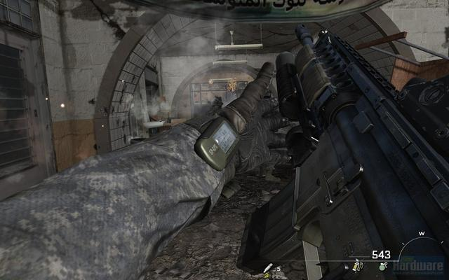 Back to Call of Duty: Modern Warfare 2 - Graphics and aspect ratio