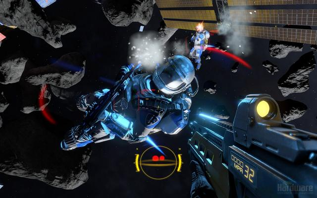 Why Shattered Horizon is PC exclusive and more technical details. VS-trave