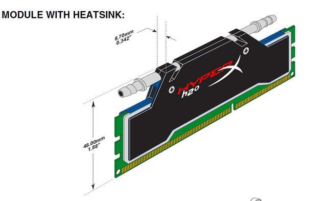 hyperx h2o kingston stellt wassergek hlte ddr3 kits vor. Black Bedroom Furniture Sets. Home Design Ideas