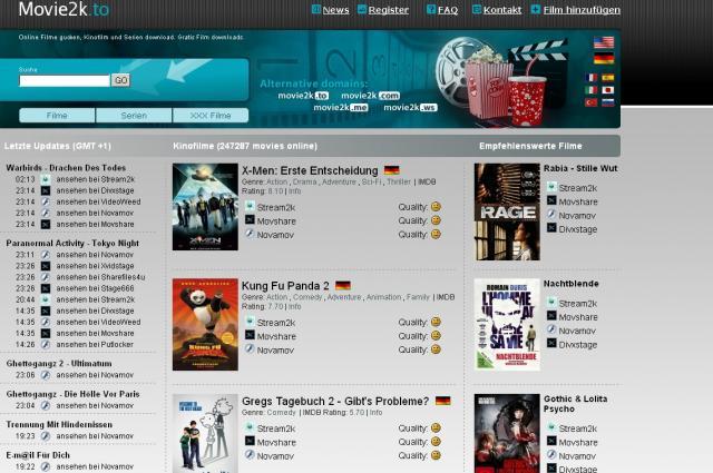 Kino Streams Seiten