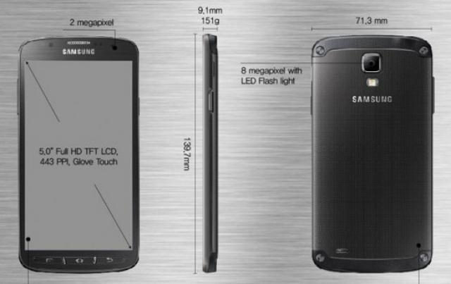 galaxy s4 active neues outdoor smartphone von samsung. Black Bedroom Furniture Sets. Home Design Ideas