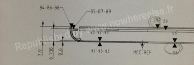 ipad 5 technische zeichnung zeigt ipad mini design beim tablet flaggschiff. Black Bedroom Furniture Sets. Home Design Ideas