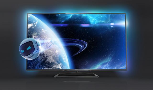 philips 9000er serie smart tvs mit 65 sowie 84 zoll und. Black Bedroom Furniture Sets. Home Design Ideas