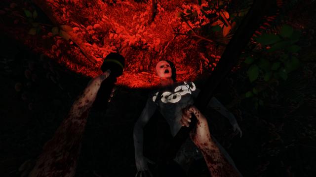 the forest survival horror game mit oculus rift support. Black Bedroom Furniture Sets. Home Design Ideas