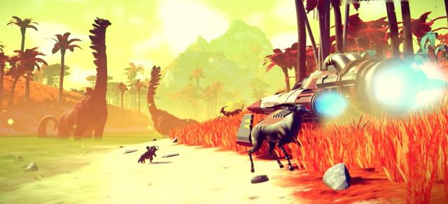 No Man's Sky: developer control procedural universe with NASA technology