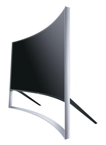 samsung ue105s9w timeless 105 z lliger curved uhd tv f r. Black Bedroom Furniture Sets. Home Design Ideas