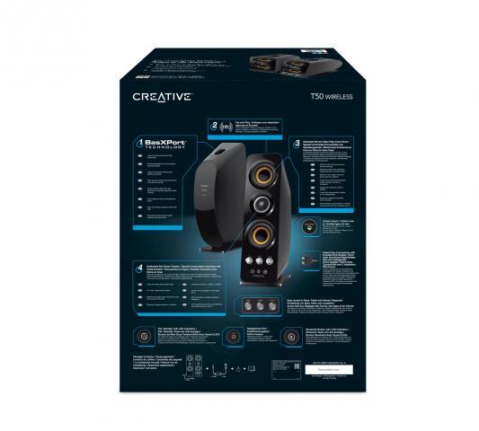 kabellose lautsprecher creative t50 wireless f r rund 200. Black Bedroom Furniture Sets. Home Design Ideas