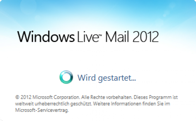 how to open windows live mail in windows 10