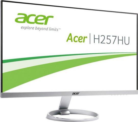 acer h257hu rahmenloser 25 zoll monitor mit wqhd und ips. Black Bedroom Furniture Sets. Home Design Ideas