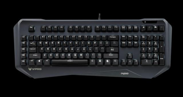 rapoo vpro v800 beleuchtete tastatur mit kailh yellow schaltern kommt f r 120 euro. Black Bedroom Furniture Sets. Home Design Ideas