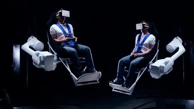 Mmone Virtual Reality Gaming Chair Im Video