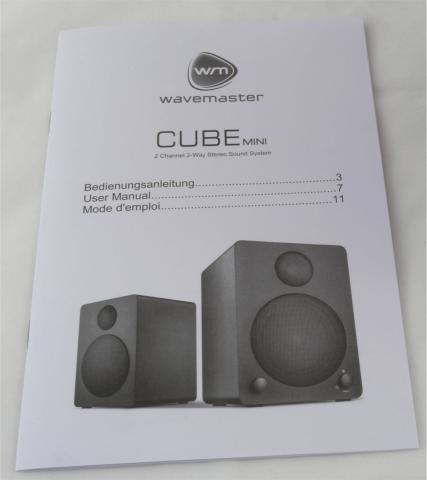 wavemaster cube mini im test gute stereo lautsprecher f r 100 euro. Black Bedroom Furniture Sets. Home Design Ideas