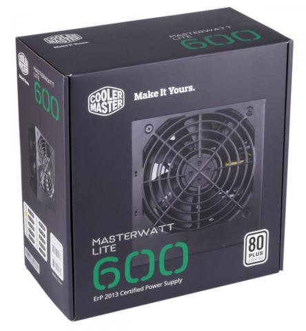 cooler master master watt lite 600w g nstiges netzteil im. Black Bedroom Furniture Sets. Home Design Ideas
