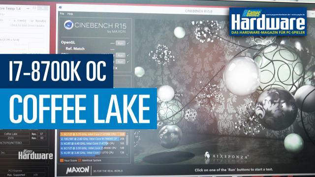 coffee lake i7 8700k dauerhaft auf ber 5 ghz der8auer zeigt im video was m glich ist. Black Bedroom Furniture Sets. Home Design Ideas