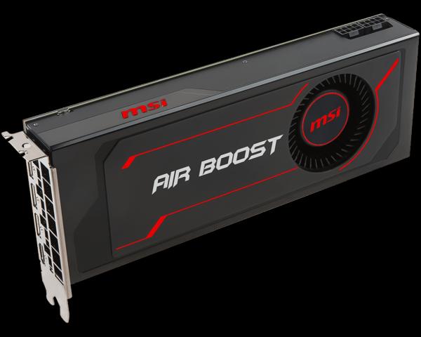MSI Radeon RX Vega 56/64 Air Boost: Referenznachbau mit
