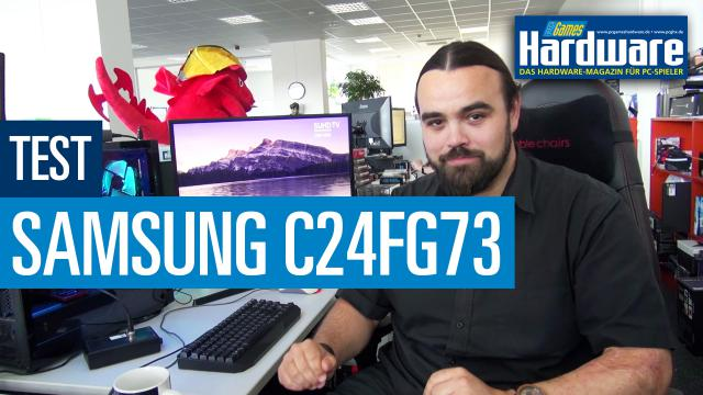 samsung c24fg73 im test der beste gaming monitor unter. Black Bedroom Furniture Sets. Home Design Ideas