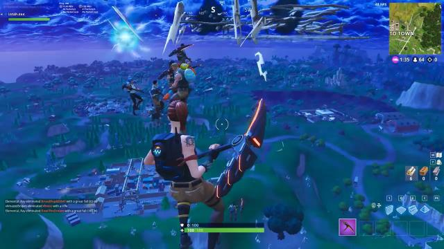 The Player Uses The Launch Of The Rocket To Set A New Record With 48