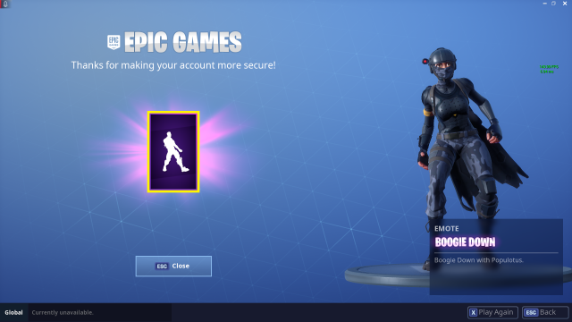 how to delete an epic games account for fortnite