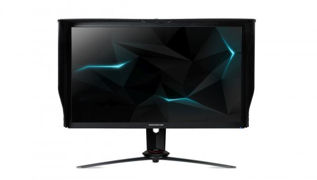acer nitro xv273k mit uhd und 144 hertz mit freesync 500. Black Bedroom Furniture Sets. Home Design Ideas