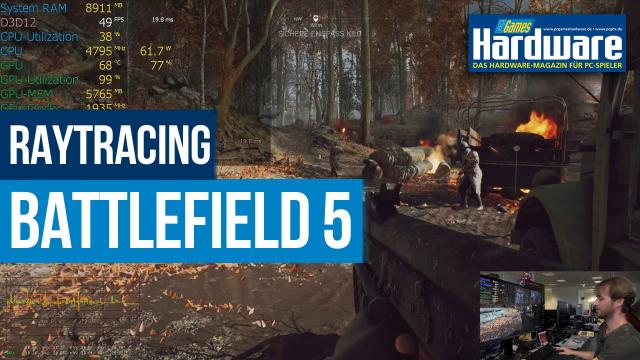 Battlefield 5: Raytracing-Performance auf RTX 2080 Ti und RTX 2070