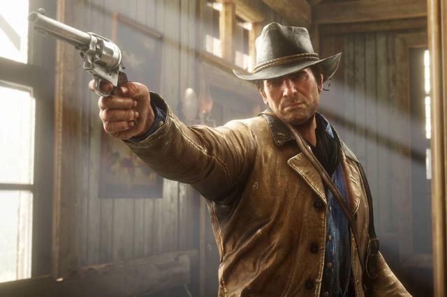 Red-Dead-Redemption-2-Spieler-entfliehen-dem-Wilden-Westen-mit-ihrem-Kanu