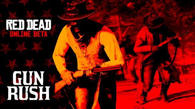 Red-Dead-Online-Gun-Rush-erh-lt-Lobby-Verbesserungen-Goldbonus-f-r-Spieler