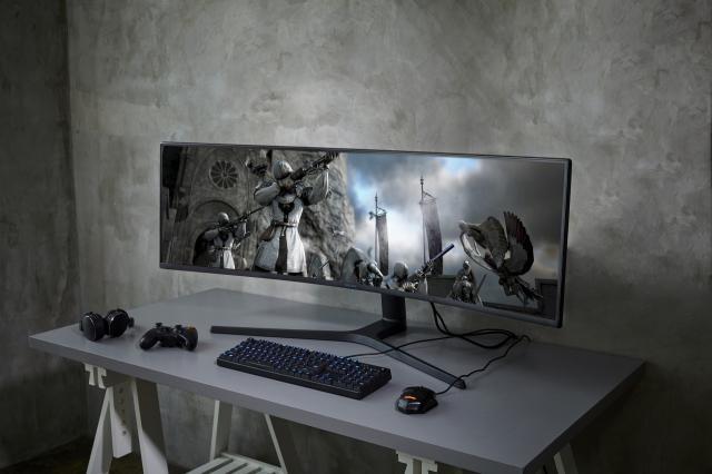 Samsung S4 Hd Wallpapers 2019: Samsung C49RG90: Zweiter 49-Zoll-Monitor Mit 5K-Auflösung