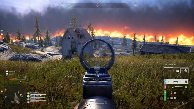 Developer right, war Battle-Royale Firestorm cousin Free-to