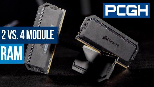 Sind vier RAM-Riegel besser als zwei? Praxistest mit Intel und AMD - PC Games Hardware