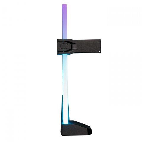 Für schwere Grafikkarten: Cooler Master mit RGB-Stützpfeiler aus Temperglas - PC Games Hardware
