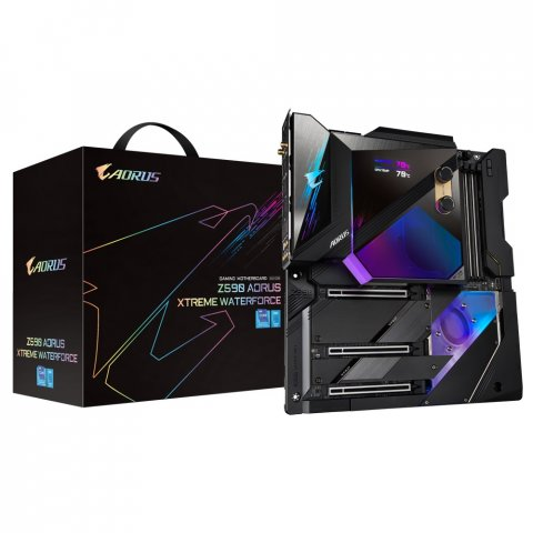 Z590-Mainboards: Gigabyte stellt Z590 Aorus Xtreme Waterforce vor - PC Games Hardware