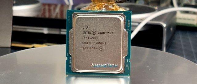 Frühstart beim Core i7-11700K - Ausführliche Review bei Anandtech dank Kaufexemplar - PC Games Hardware