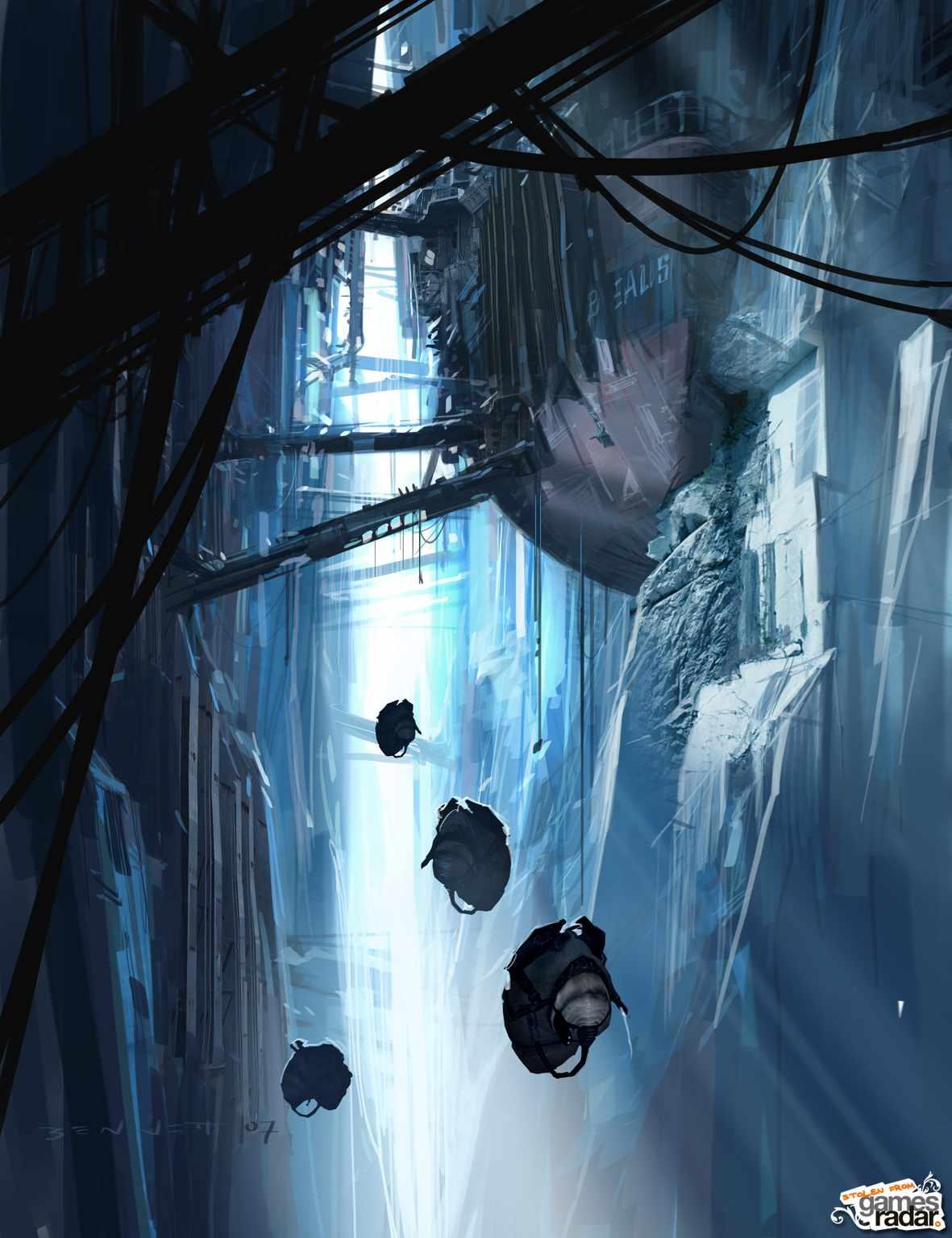 Alleged concept art of half life 2 episode 3 source bild