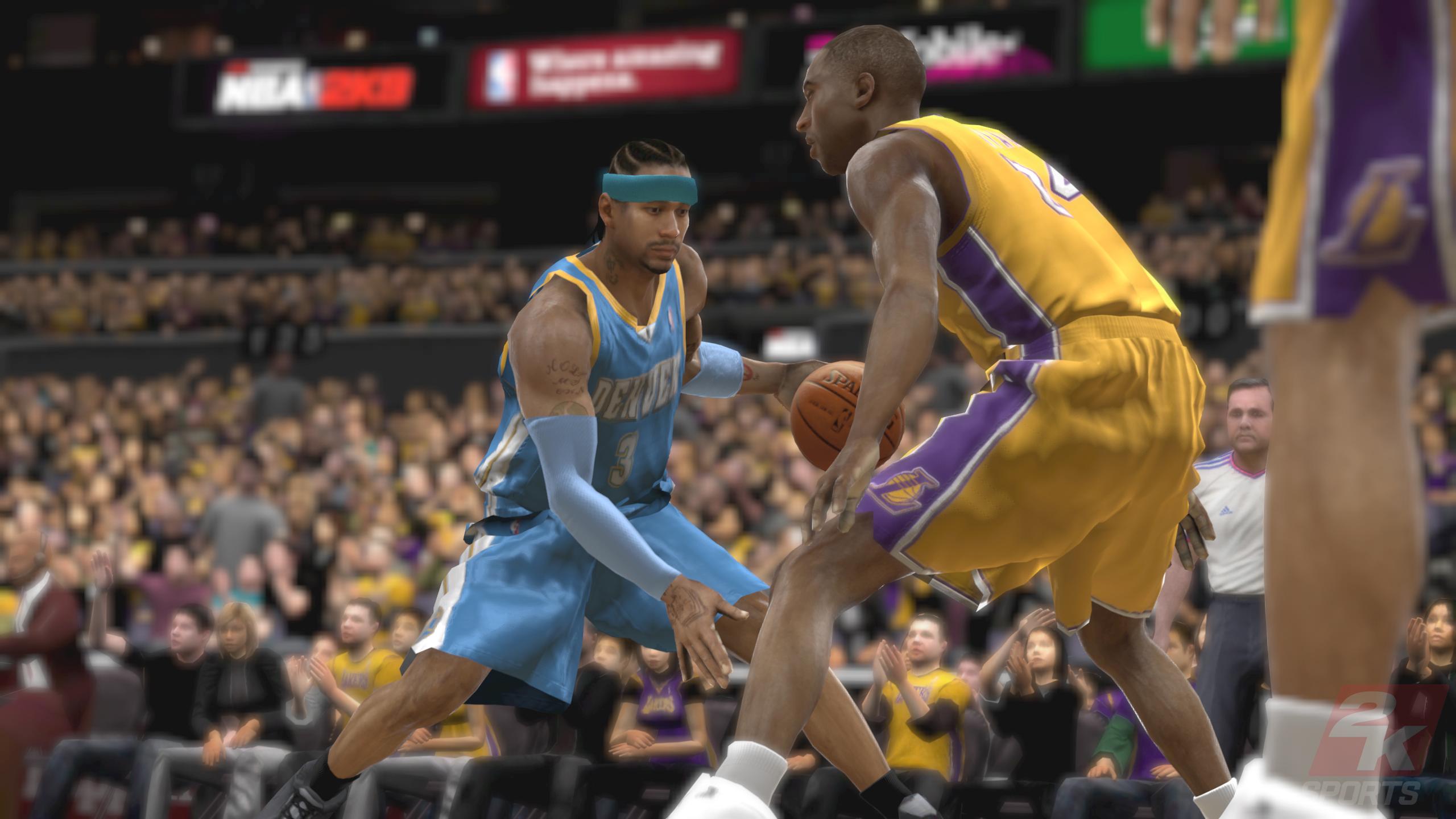 NBA 2K9 screenshot скриншот.